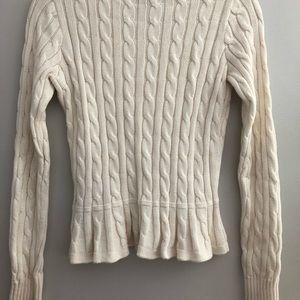 18d984f9e Ralph Lauren Shirts & Tops - *CYBER WEEK* Ralph Lauren Peplum Cardigan  Sweater